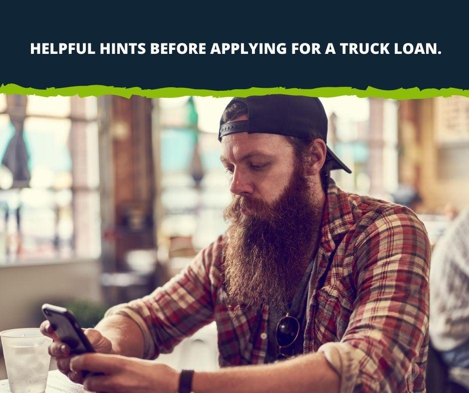 Applying for Truck Finance.