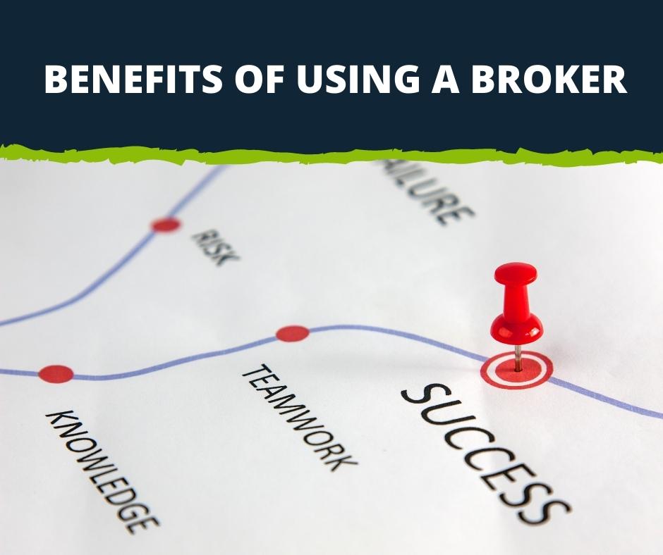 Benefits of using a broker